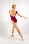 Justaucorps Ballet Rosa Frida ruby