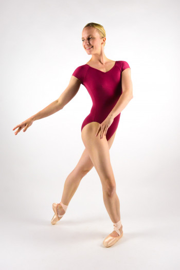 Ballet Rosa Frida ruby leotard