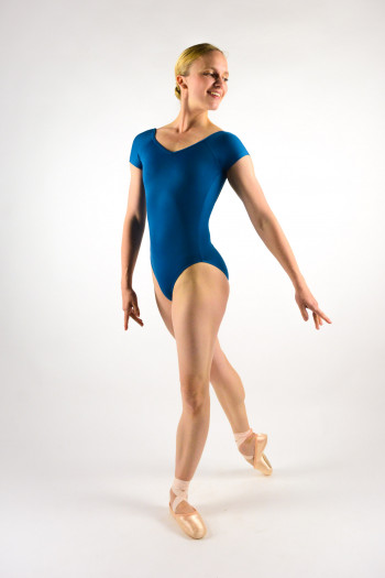 Ballet Rosa Frida encre blue leotard