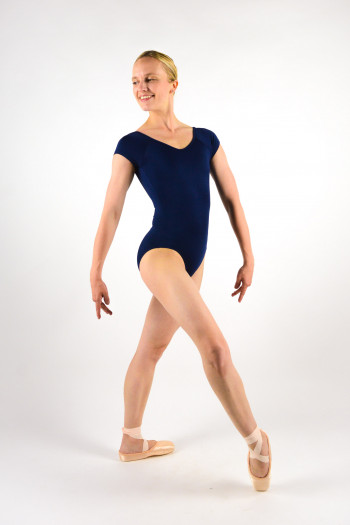 Ballet Rosa Frida navy leotard