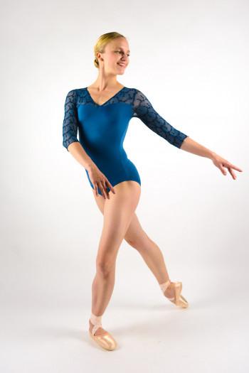 Justaucorps Ballet Rosa Anouk encre bleu