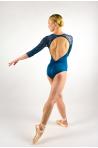 Leotard Ballet Rosa Anouk encre blue