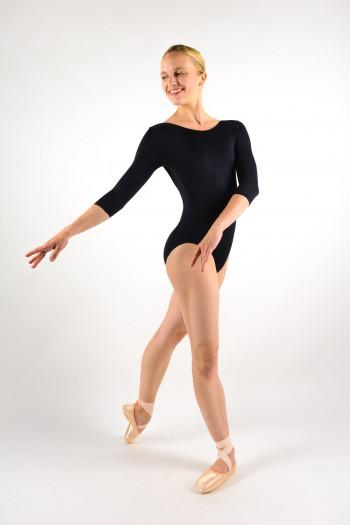Ballet Rosa Azora black women leotard