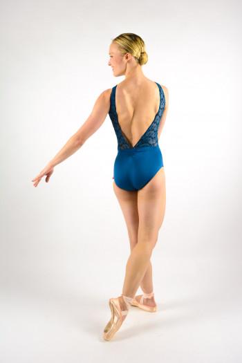 Leotard Ballet Rosa Antonia encre bleue