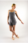 Intermezzo warm up unitard grey adult