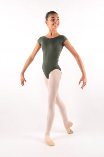 Justaucorps enfant Ballet Rosa Frida olive