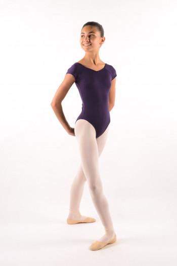 Justaucorps enfant Ballet Rosa Frida viola