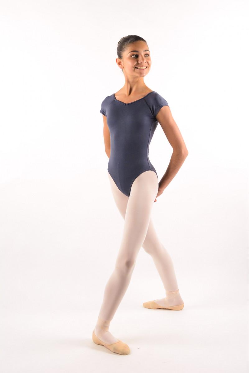 Justaucorps enfant Ballet Rosa Frida gris