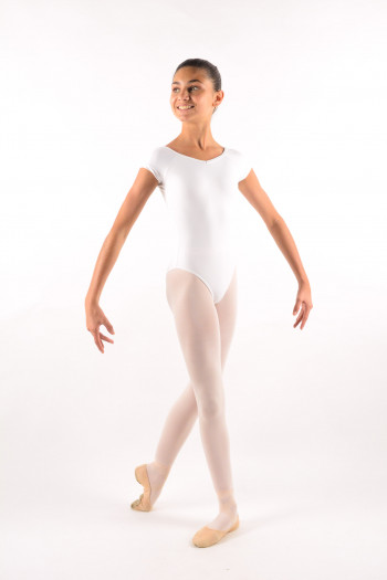 Ballet Rosa child Frida white leotard