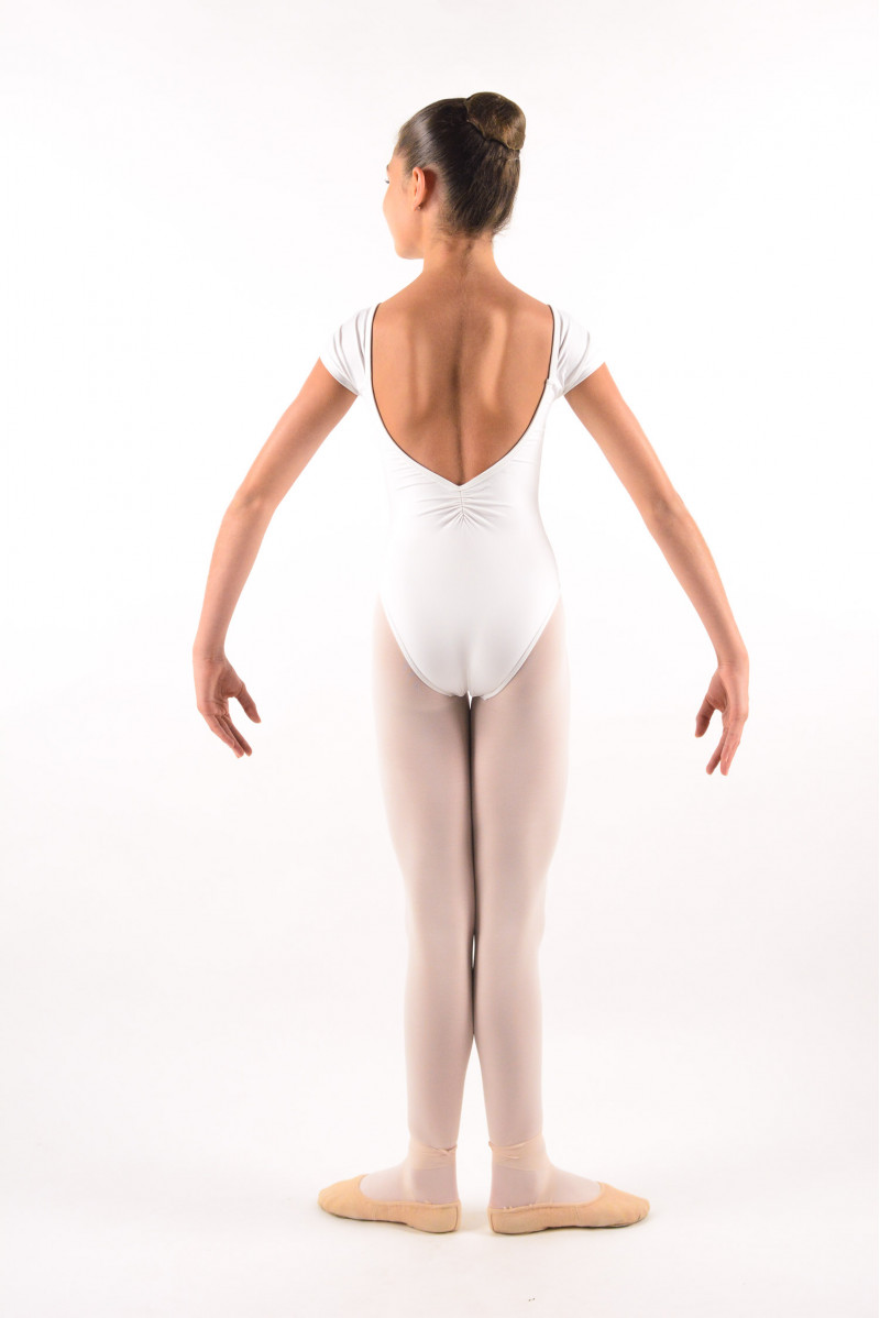Justaucorps enfant Ballet Rosa Frida blanc