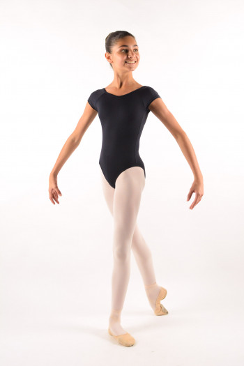 Ballet Rosa child Frida black leotard