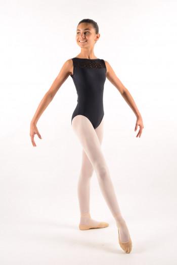 Justaucorps Ballet Rosa Camila noir enfant