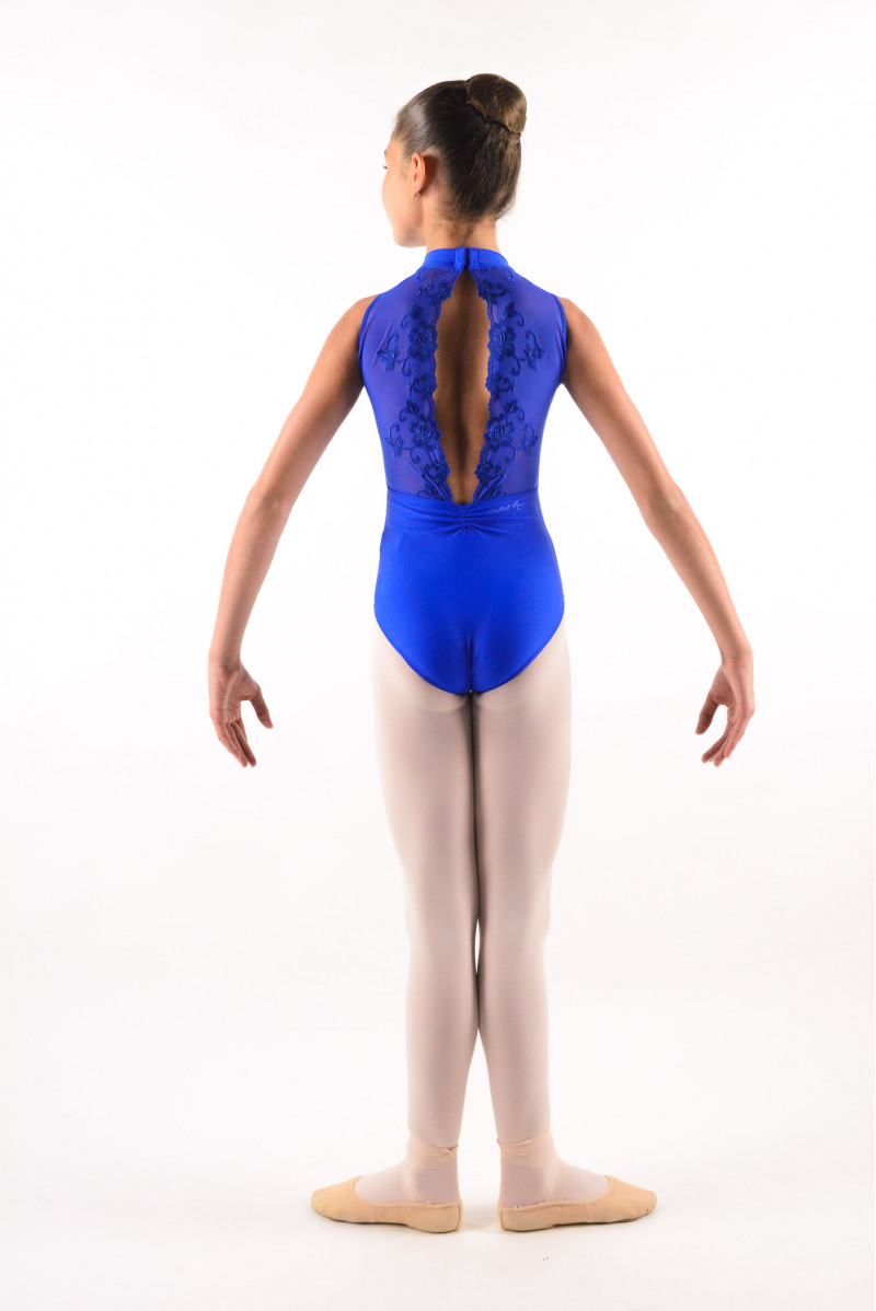 Ballet Rosa royal blue Amélie Leotard child