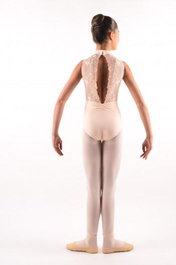 Justaucorps enfant Ballet Rosa Amélie rose poudré