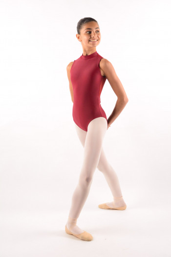 Ballet Rosa burgundy Amélie Leotard child