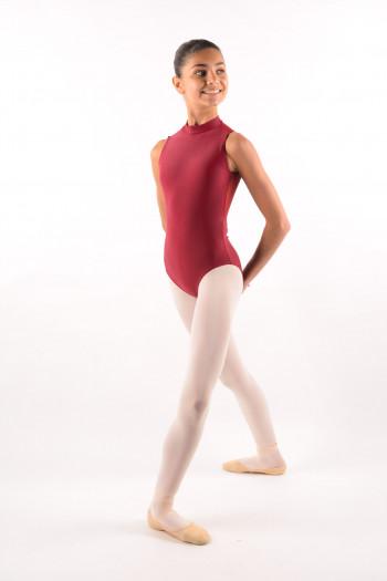 Justaucorps enfant Ballet Rosa Amélie bordeaux