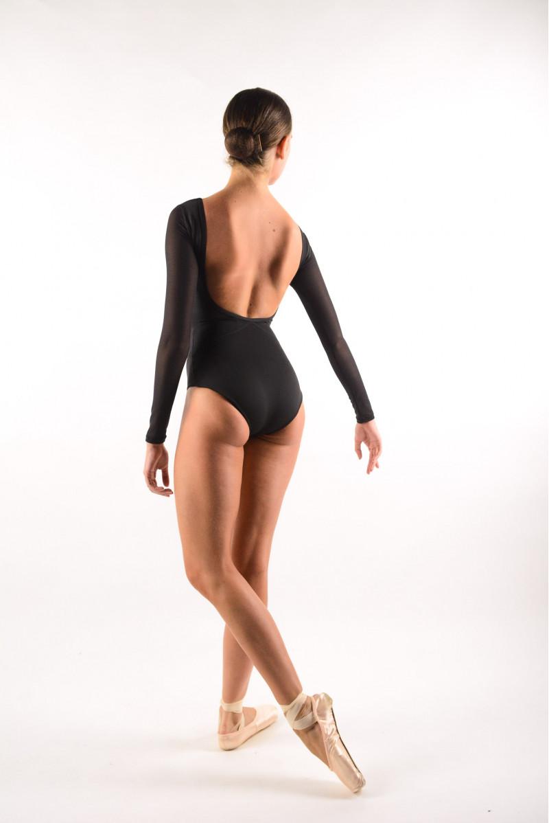 Leotard Capezio long sleeves Black 11654W