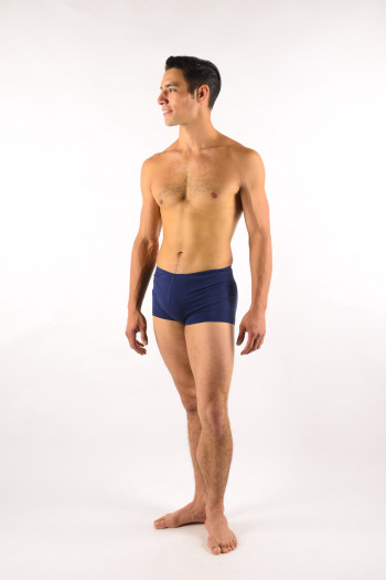 Short navy Ballet Rosa Elia cotton lycra