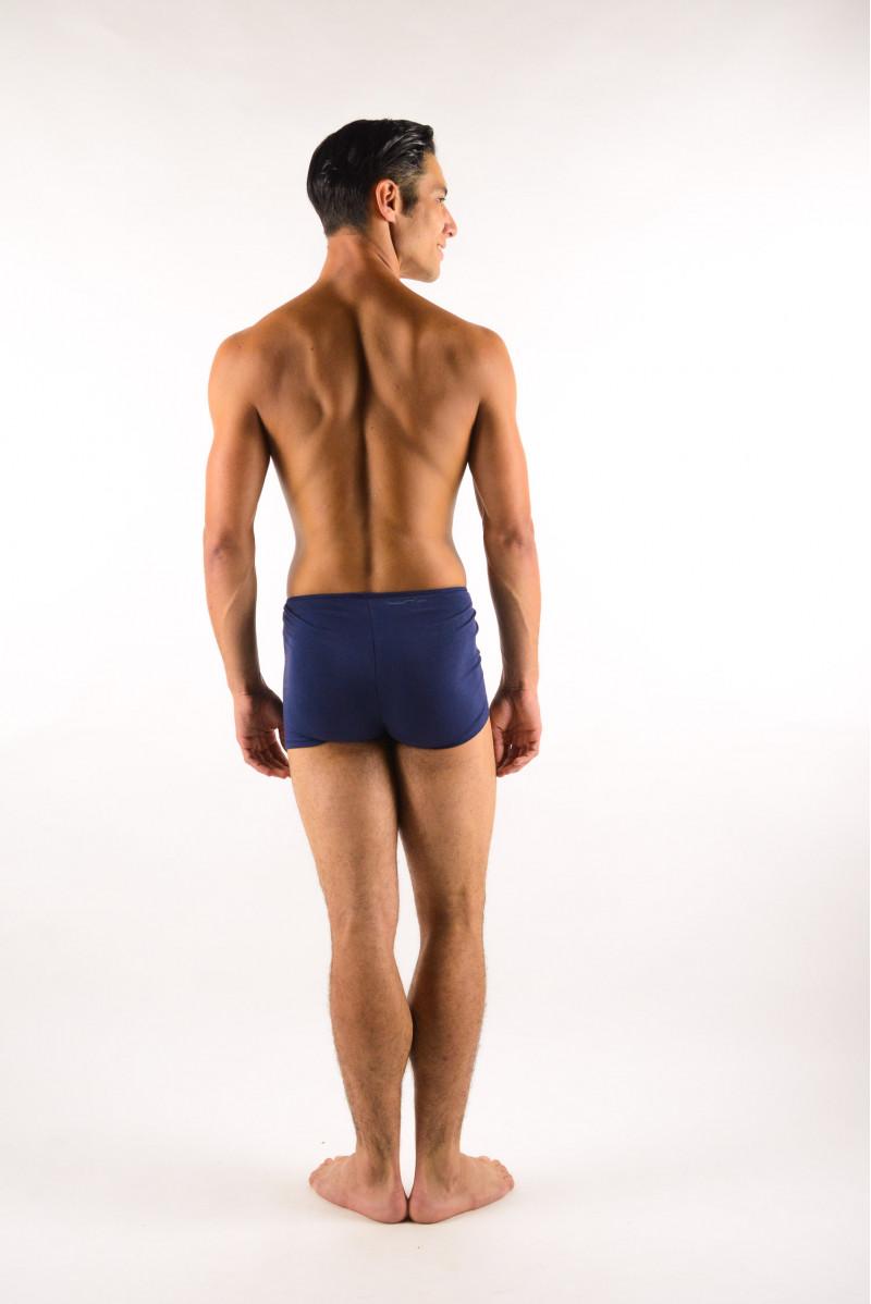 Ballet Rosa Elia cotton navy shorts