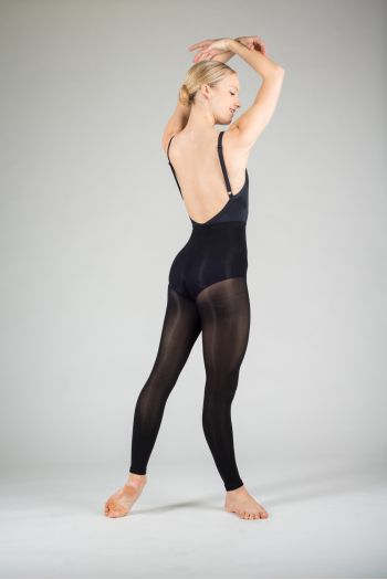 Soloist black footless tights