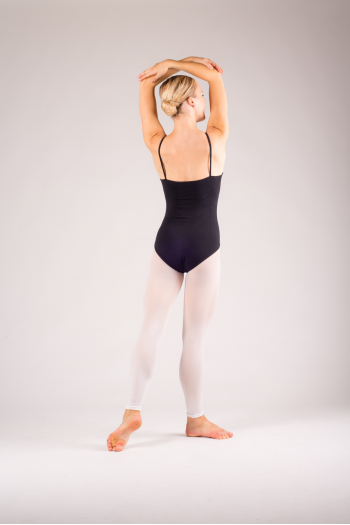 Soloist white footless tights