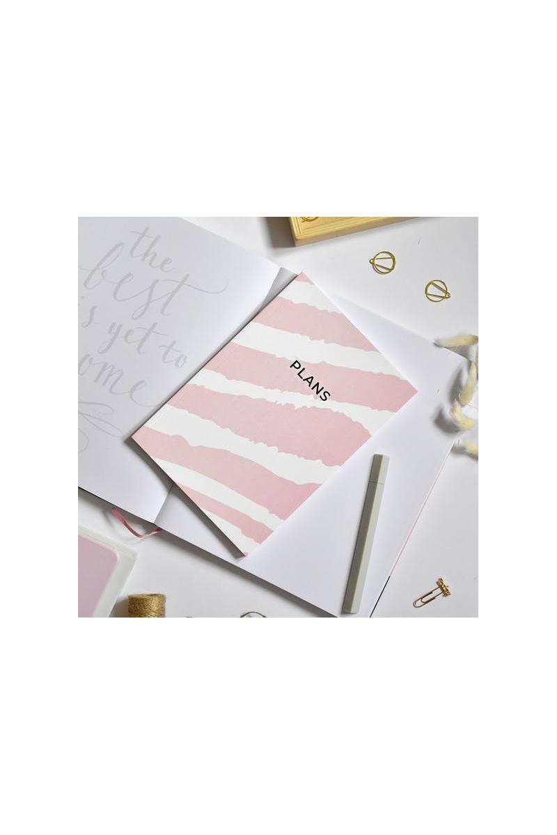 Notebook A5 Imprimé Zèbre rose The Room Alive