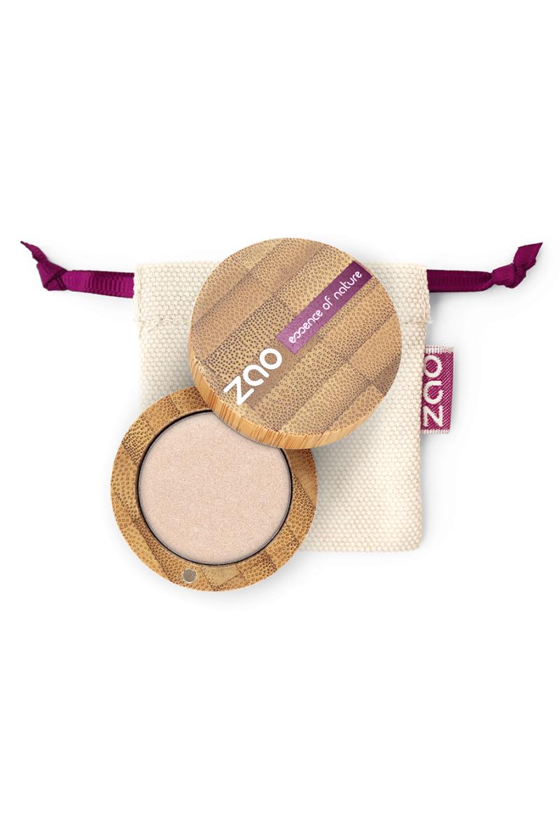Ombre à paupières nacrée Zao Make Up ivoire