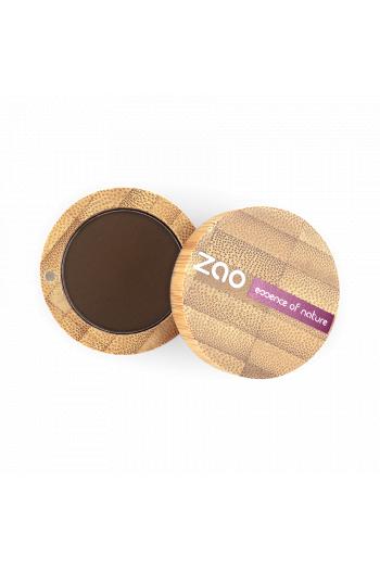 Ombre à paupières mate Zao Make Up brun foncé