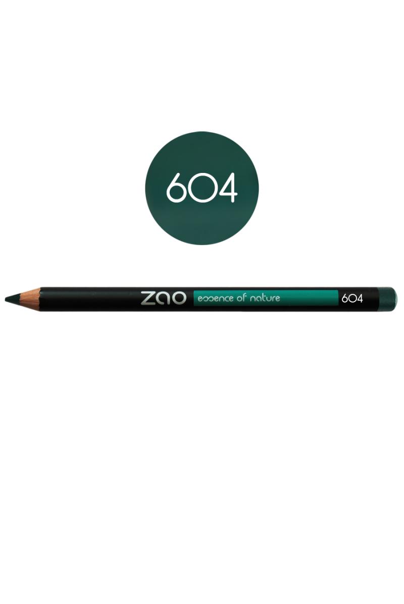 Crayon yeux Zao Make Up vert sombre