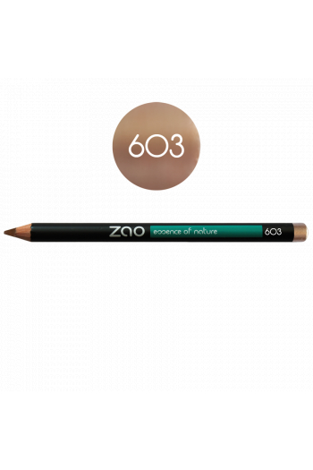 Crayon sourcils Zao Make Up beige nude
