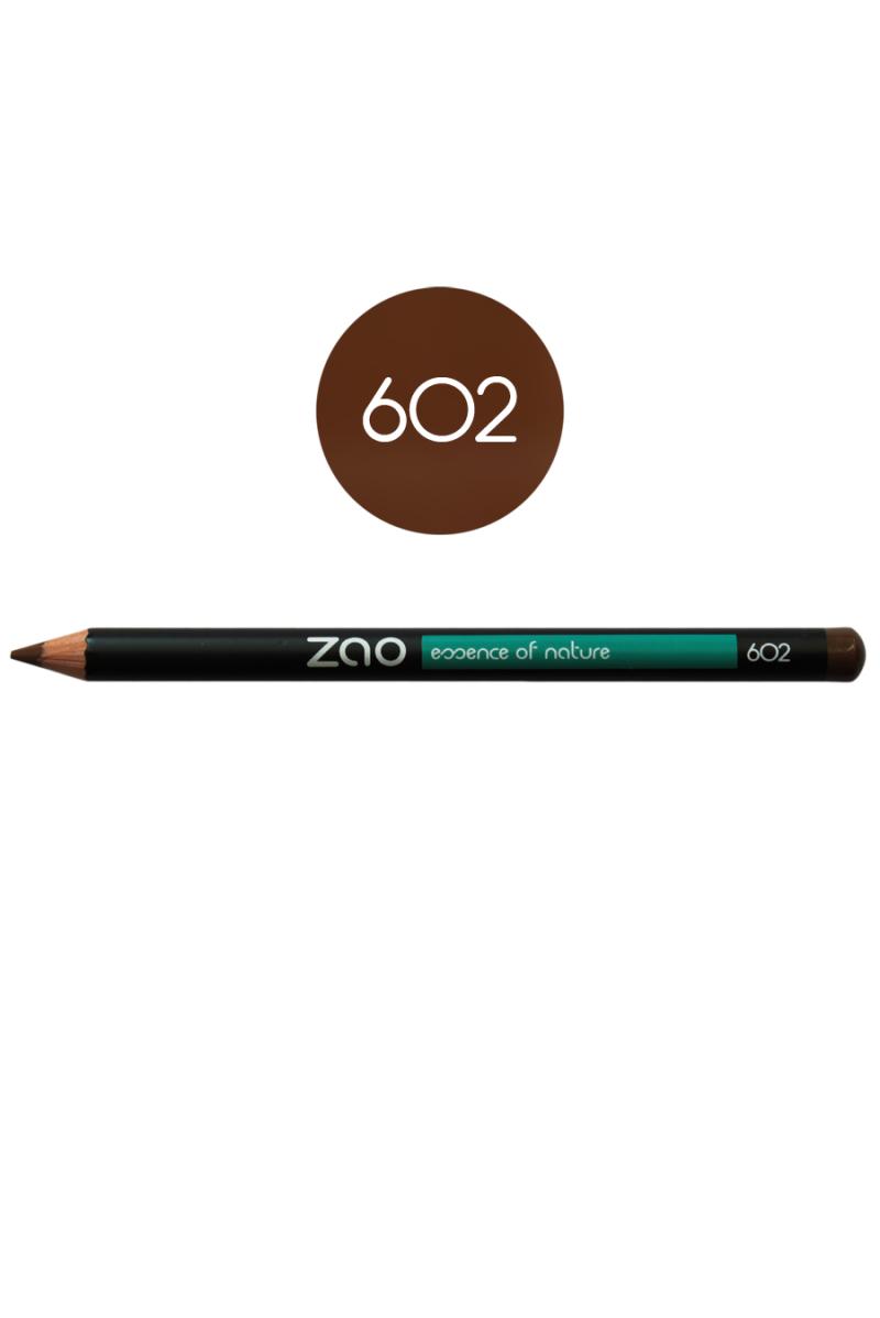 Crayon sourcils Zao Make Up brun foncé
