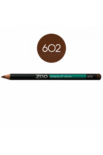 Crayon sourcils Zao Make Up brun foncé