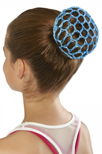 Filet crochet pour chignon Bloch bleu A0804