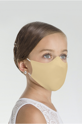 Wear Moi MASK017 Mask Wear Moi MASK017 beige microfiber child mask