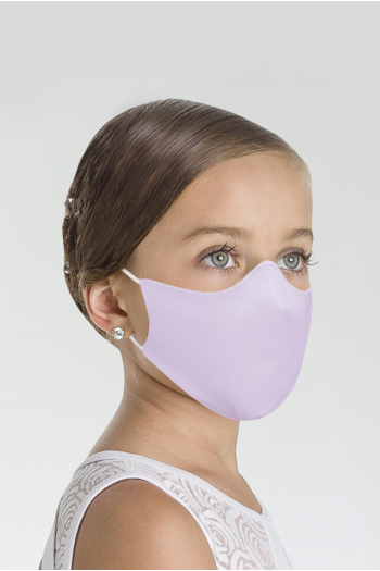 Wear Moi MASK017 Mask Wear Moi MASK017 lilac microfiber child mask