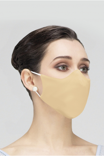 Wear Moi MASK017 Mask Wear Moi MASK017 in beige microfiber woman