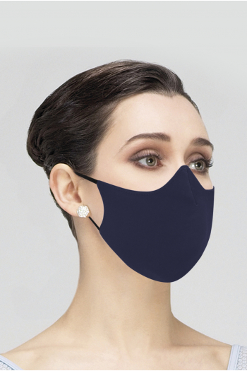 Wear Moi MASK017 Mask Wear Moi MASK017 navy microfiber woman