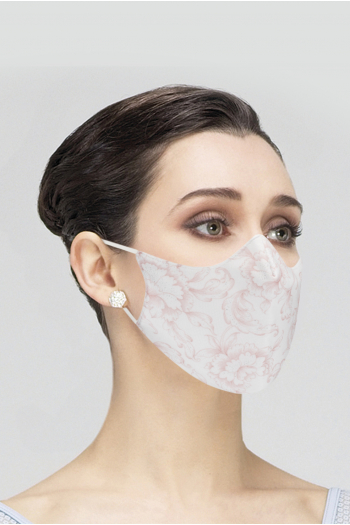 Mask Wear Moi MASK019 printed woman white