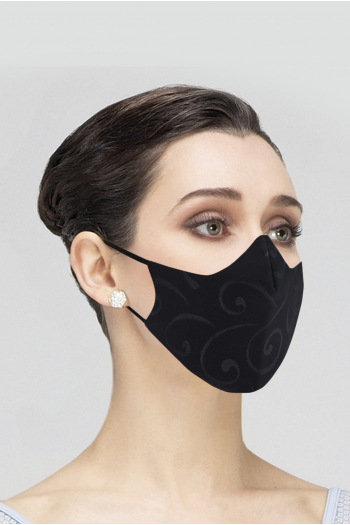 Mask Wear Moi MASK023 Wear Moi Mask MASK023 printed woman black