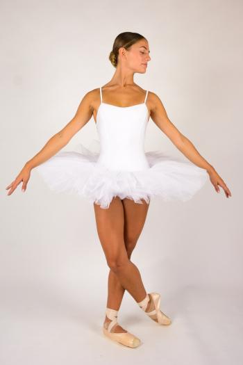 Capezio 10894 white camisole tutu for women