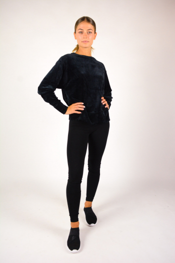 Majestic Filiatures Long Sleeve Sweatshirt black