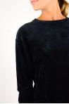 Majestic Filiatures Long Sleeve Sweatshirt black