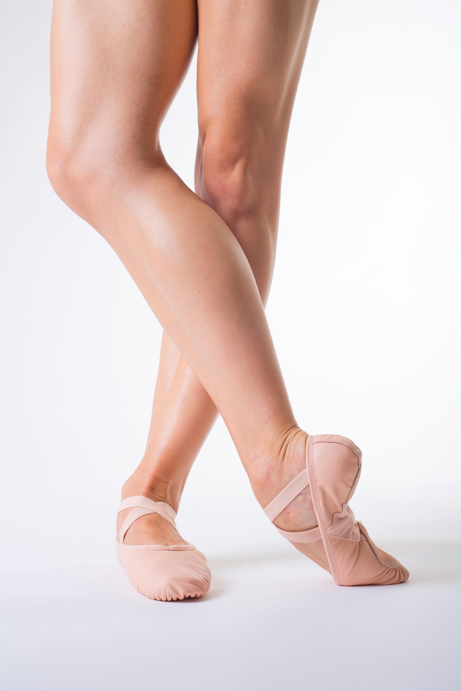 Chausson Danse demi pointes cuir bi-semelle bloch s0203l - mademoiselle danse