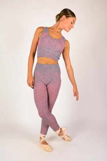 Legging sans couture Repetto gris W0653