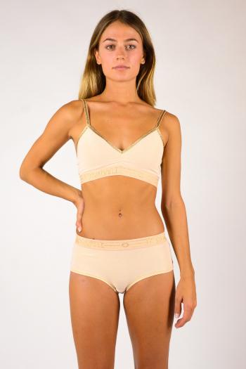 Georgia wide elastic bra Blush La Nouvelle