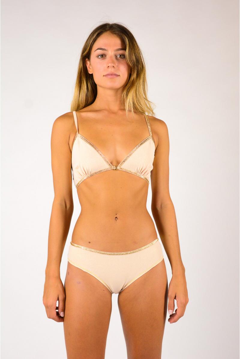 Bra Angèle La Nouvelle blush lurex