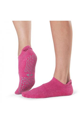 Chaussettes de Pilates Tavi rose Savy