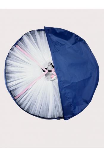 Housse tutu Gaynor Minden large 127 cm bleue