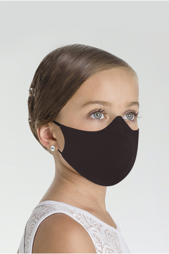 Masque Wear Moi MASK017 en microfibre enfant chocolate
