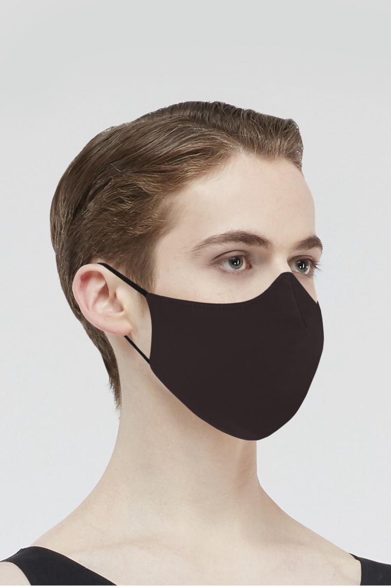 Masque Wear Moi en microfibre homme chocolate